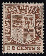 Buy Mauritius #138 Coat of Arms; Used (0.25) (4Stars) |MAU0138-05XRS
