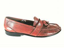 Buy Bostonian Brown Leather Kilt Tassels Dress Slip On Loafer Shoes Men's 13 M (SM4)