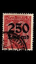 Buy GERMANY REICH Dienst [1923] MiNr 0093 ( O/used )
