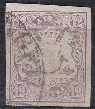 Buy GERMANY Bayern Bavaria [1867] MiNr 0018 ( O/used ) [01]
