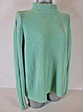 Buy VENEZIA womens Sz 18/20 L/S green RIBBED turtle neck HEAVYWEIGHT sweater (A5)P