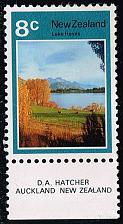 Buy New Zealand #508 Lake Hayes; Unused (1.50) (2Stars) |NWZ0508-02