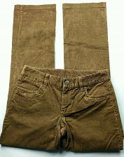 Buy J Crew Women's Favorite Fit Corduroy Boot Cut Pants 0S Solid Brown Stretch