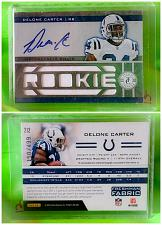 Buy NFL Delone Carter Colts autographed 2012 Panini Certified 11Pc Jersey /499 Mnt