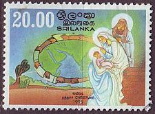 Buy CEYLON SRI LANKA [1995] MiNr 1095 ( O/used ) Weihnachten