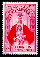 Buy VENEZUELA [1952] MiNr 0834 ( O/used ) Religion