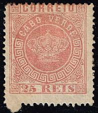 Buy Cape Verde #4 Crown; Unused (1Stars) |CPV0004-01XRS