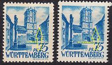 Buy GERMANY Alliiert Franz. Zone [Württemberg] MiNr 0011 vv I,II ( **/mnh ) [01]
