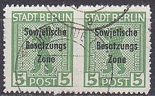 Buy GERMANY Alliiert SBZ [Allgemein] MiNr 0200 B ( O/used ) [02] Paar