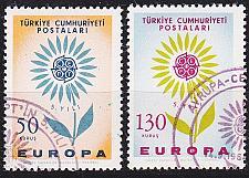 Buy TÜRKEI TURKEY [1964] MiNr 1917-18 ( O/used ) CEPT