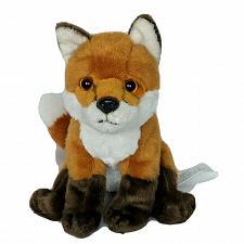 "Buy Toys R Us Brown White Realistic Fox Plush Stuffed Animal 2015 8.25"""