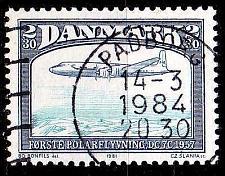 Buy DÄNEMARK DANMARK [1981] MiNr 0743 ( O/used ) Flugzeug