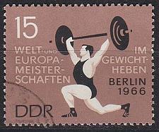 Buy GERMANY DDR [1966] MiNr 1210 ( OO/used ) Sport