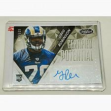 Buy NFL GREG ROBINSON ST LOUIS RAMS AUTOGRAPHED 2014 PANINI CERTIFIED RC /399 MINT