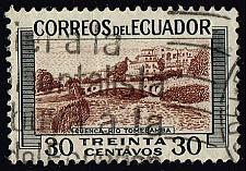 Buy Ecuador #579 Tomebamba River; Used (1Stars) |ECU0579-03XRS