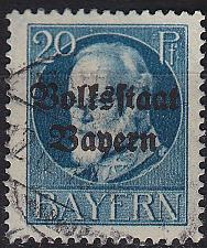 Buy GERMANY Bayern Bavaria [1919] MiNr 0121 A ( O/used )