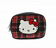 Buy New Hello Kitty Pouch Tartan Free Shipping