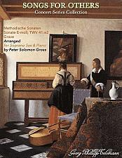 Buy Telemann - Sonata in E Minor for Soprano Saxophone and Piano