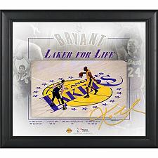 """Buy New Los Angeles Lakers Kobe Bryant Fanatic Authentic Framed 15"""" x 17"""" Final"""