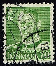 Buy Denmark #326 King Frederik IX; Used (0.25) (2Stars) |DEN0326-04