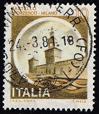 Buy Italy #1409 Sforzesco Castle; Used (3Stars) |ITA1409-06