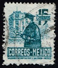 Buy Mexico #825 Postman; Used (0.25) (3Stars) |MEX0825-10XRS