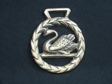 Buy Vintage Swan Horse Brass Bird Medallion Harness Wreath