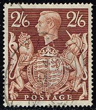 Buy Great Britain #249 King George VI & Royal Arms; Used (6.00) (0Stars) |GBR0249-04XRS