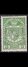 Buy LIECHTENSTEIN [1917] MiNr 0005 ( **/mnh )