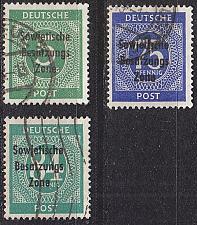 Buy GERMANY Alliiert SBZ [Allgemein] MiNr 0207 ex ( O/used ) [03]