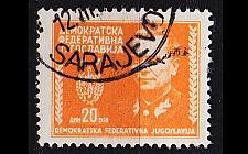 Buy JUGOSLAVIA [1945] MiNr 0468 ( O/used )