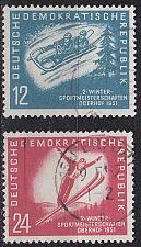 Buy GERMANY DDR [1951] MiNr 0280-81 ( OO/used ) [01]