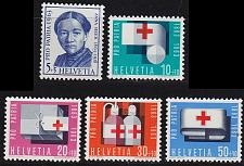 Buy SCHWEIZ SWITZERLAND [1963] MiNr 0775-79 ( **/mnh ) Pro Patria