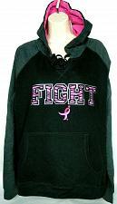 Buy Susan G Komen Womens Breast Cancer Hoodie Size 2X Black Pink