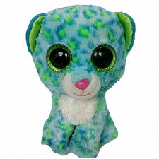 Buy Ty Beanie Boo Leona Blue Leopard Glitter Eyes Plush Stuffed Animal 2014 6""