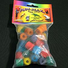 Buy NEW Bird Toy Colored Wood Beads Zoo Max 48 non toxic color