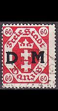 Buy GERMANY REICH Danzig [Dienst] MiNr 0009 ( O/used )