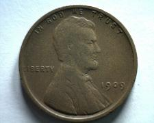 Buy 1909 VDB LINCOLN CENT PENNY VERY FINE VF NICE ORIGINAL COIN BOBS COINS FAST SHIP