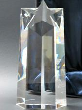 Buy Optical GLASS , Gift crystal / Star award for etching