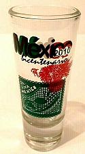 "Buy Mexico Bicentario 2010 Viva Mexico 4"" Collectible Shot Glass (5-83)"