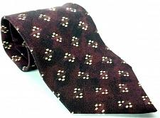 Buy Hugo Boss Men's Dress Necktie 100% Silk Geometric Red Made In Italy
