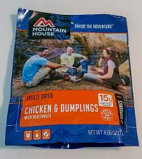 Buy Mountain House Freeze Dried Food Pouches Camp Trail MRE Emergency, Chicken &Dump