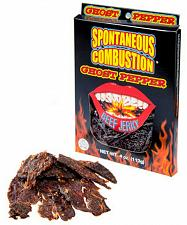 Buy Spicy Hot Tasty Ghost Pepper Beef Jerky YouTube Challenge Free Shipping
