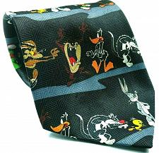 Buy Looney Tunes Bugs Marvin Road Runner Sylvester Taz Daffy Tweety Novelty Tie