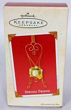 Buy Hallmark Keepsake Christmas Ornament Special Friend Chair With Gift 2003