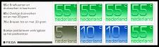 Buy Netherlands #536g Numeral Complete Bklt Pane of 8; MNH (5Stars) |NED0536gcoma-01XRP