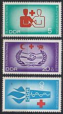 Buy GERMANY DDR [1966] MiNr 1207-09 ( **/mnh ) Rotes Kreuz