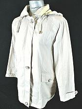 Buy MACKINTOSH womens Small L/S beige FULL ZIP 2 pocket HOODED lined jacket (B3)P