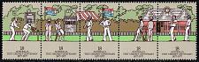 Buy Australia #665a Cricket Match Strip of 5; MNH (3.00) (5Stars) |AUS0665a-02XBC