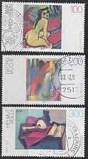 Buy GERMANY BUND [1996] MiNr 1843-45 ( O/used ) Gemälde